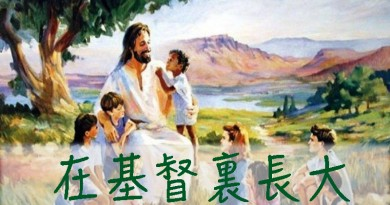 0 在基督里长大